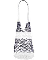 Sophie Anderson - Striped Macramé Shoulder Bag - Lyst