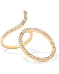 Anissa Kermiche - 18-karat Gold Diamond Ring - Lyst