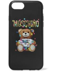 Moschino - Printed Silicone Iphone 6, 6s, 7 And 8 Case - Lyst