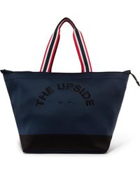 The Upside - Embroidered Neoprene Tote - Lyst