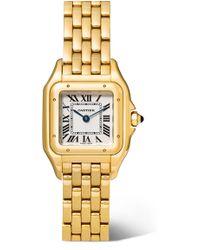 Cartier - Panthère De Small 22mm 18-karat Gold Watch - Lyst