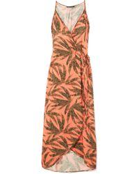 ViX - Tropicus Grazi Printed Voile Maxi Dress - Lyst