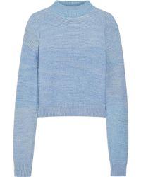 The Elder Statesman - Distressed Cashmere Sweater - Lyst