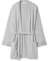 Skin | Valora Tasselled Cotton-blend Robe | Lyst