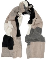 Madeleine Thompson - Christobel Color-block Cashmere Scarf - Lyst