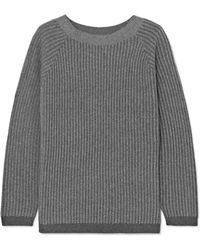 Theory - Ribbed Cashmere Jumper - Lyst
