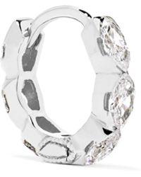 Maria Tash - Invisible Eternity 18-karat White Gold Diamond Earring - Lyst