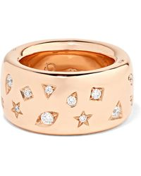 Pomellato - 18-karat Rose Gold Diamond Ring - Lyst