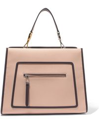 Fendi - Runaway Large Leather Tote - Lyst