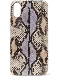 The Case Factory - Snake-effect Leather Iphone 7 And 8 Plus Case - Lyst