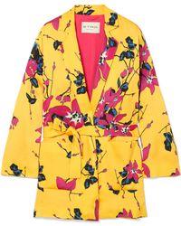 Etro - Floral-print Crepe Blazer - Lyst