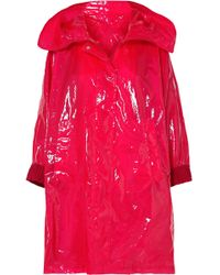 Moncler - Astrophy Pvc Raincoat - Lyst