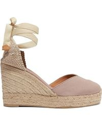 Castaner Chiara 80 Canvas Wedge Espadrilles