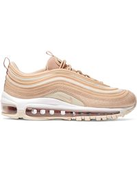 best service ba32f 8c226 Nike - Air Max 97 Lx Croc-effect Leather And Mesh Sneakers - Lyst