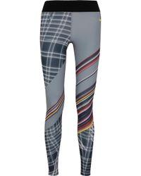 Nike - Power Legendary Printed Dri-fit Stretch Leggings - Lyst