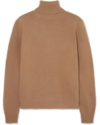 Max Mara - Wool And Cashmere-blend Turtleneck Sweater - Lyst