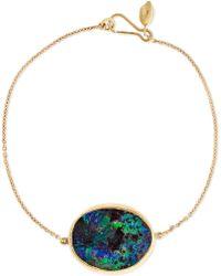 Pippa Small | 18-karat Gold Opal Bracelet | Lyst