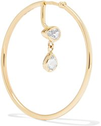 Maria Black - Novelli 14-karat Gold Sapphire Earring - Lyst