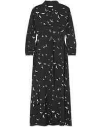 Equipment - Major Printed Silk Crepe De Chine Maxi Dress - Lyst