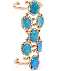 Amrapali - 18-karat Gold, Opal And Diamond Ring - Lyst