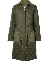 Altuzarra - Creedence Reversible Cotton Twill-trimmed Quilted Shell Coat - Lyst