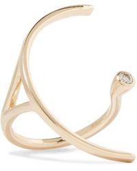 Hirotaka - Tree Hopper 10-karat Gold Diamond Ring - Lyst