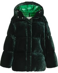 Moncler - Butor Velvet Down Jacket - Lyst