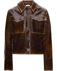 Beaufille - Nix Glossed Wool-blend Jacket - Lyst