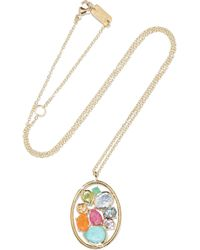 Ippolita | Rock Candy 18-karat Gold Multi-stone Necklace | Lyst