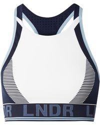 LNDR - Gamma Panelled Stretch-knit Sports Bra - Lyst