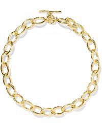 Ippolita - Classico Bastille 18-karat Gold Necklace - Lyst