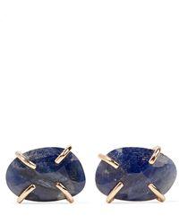 Melissa Joy Manning - 14-karat Gold Sapphire Earrings - Lyst