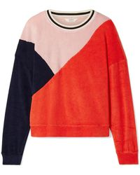 Splendid - + Margherita Sportivo Cotton And Modal-blend Terry Sweatshirt - Lyst