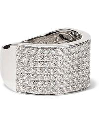 Anita Ko - Marlow 18-karat White Gold Diamond Ring - Lyst