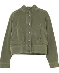 Valentino - Oversized Cotton-twill Jacket - Lyst