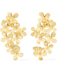 Pippa Small - 18-karat Gold Earrings - Lyst
