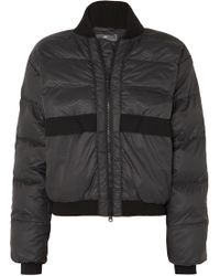 adidas By Stella McCartney - Snake-print Quilted Shell Jacket - Lyst