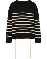 Vince - Striped Cashmere Jumper - Lyst