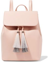 Loeffler Randall - Tassel-trimmed Leather Backpack - Lyst