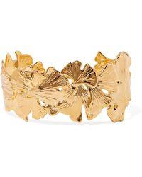 Aurelie Bidermann - Tangerine Gold-plated Cuff - Lyst