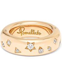 Pomellato - 18-karat Rose Gold Diamond Ring - Lyst
