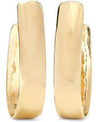 Jennifer Fisher - Bolden Gold-plated Hoop Earrings - Lyst