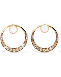 Noor Fares - Svadhisthana 18-karat Gold Multi-stone Earrings - Lyst
