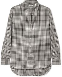 Totême  - Capri Checked Poplin Shirt - Lyst