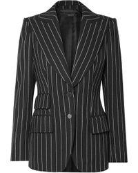 Tom Ford - Striped Fitted Blazer - Lyst