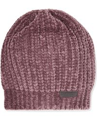 Brunello Cucinelli - Bead-embellished Ribbed Cashmere-blend Beanie - Lyst