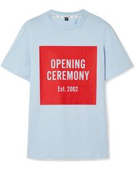 Opening Ceremony - Printed Cotton-jersey T-shirt - Lyst