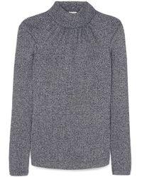 Golden Goose Deluxe Brand - Gardena Gathered Lurex Turtleneck Sweater - Lyst