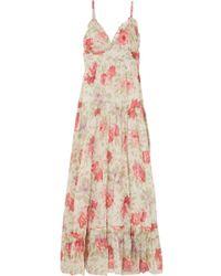 Paul & Joe - Floral-print Cotton-gauze Maxi Dress - Lyst