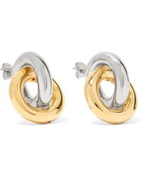 J.W.Anderson - Gold And Silver-plated Earrings - Lyst